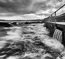 The Washing Machine - North Curl Curl, NSW by Malcolm Katon
