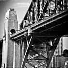 The Bridge Pylons by Deborah Clearwater