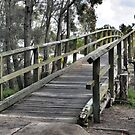 Long Jetty Bridge by Robyn Forbes