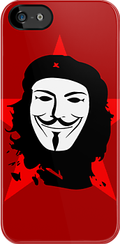 Anonymous che guevara revolution by karlangas