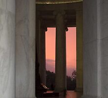 Sunrise, Jefferson Memorial, Washington D.C. by Bine