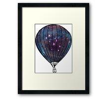 Galaxy Balloon Framed Print
