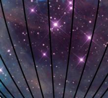 Galaxy Balloon Sticker