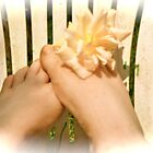 Play footsies with me by Carolyn Clark