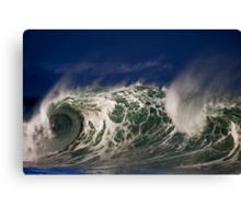 Winter Waves At Waimea Bay 5 Canvas Print