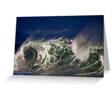 Winter Waves At Waimea Bay 5 Greeting Card