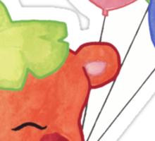 Watercolour Hamster Sticker
