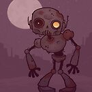 Rusty Zombie Robot  by fizzgig