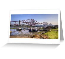 North Queensferry Bridge Greeting Card