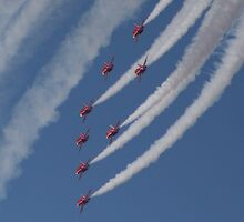The red arrows in Blackpool by blueandwhite80