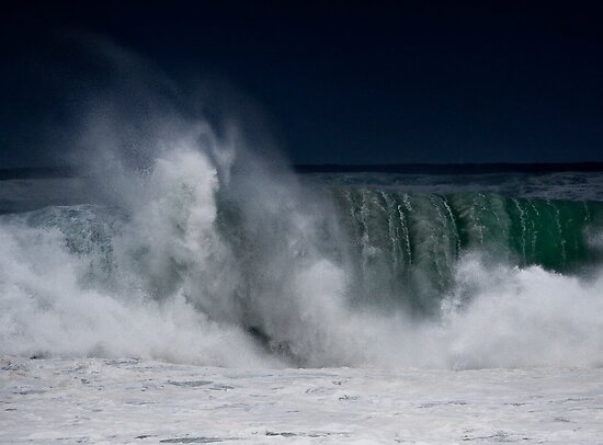 Winter Waves At Pipeline 9 by Alex Preiss
