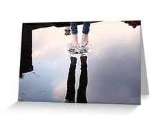 Jump & touch the sky Greeting Card