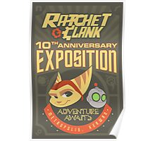 Ratchet & Clank 10th Anniversary Exposition Poster