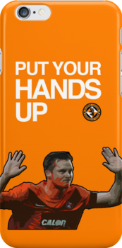 Jon Daly Dundee United iPhone Case by Cruicky14