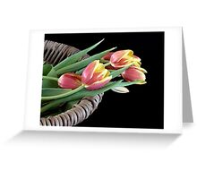 Flowers From The Garden Greeting Card