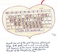 Witness Art - Out of the Heart the Keyboard Speaks by djean