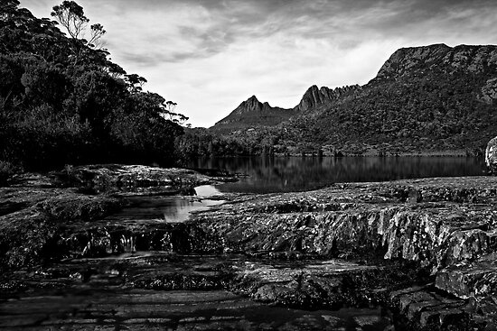 Escape to Paradise_BW_Cradle Mountain_Tassie by Sharon Kavanagh