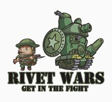 Rivet Wars Allied Grunt and Vert Tank by rivetwars