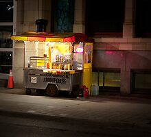 Hot Dogs On John Street by Gary Chapple