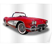Chevrolet - 1961 Corvette Roadster Convertable Poster