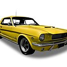 Ford - 1966 Mustang Hardtop Coupe by axemangraphics