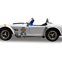 Ford - 1968 Shelby Cobra Convertable - Side by axemangraphics