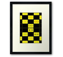 We See The Truth - TV Grid Framed Print