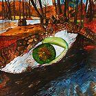 River's EyE... Spirit eYe... God's EyE.. by Nira Dabush