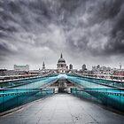 Millenium Bridge, London  by MartinWilliams