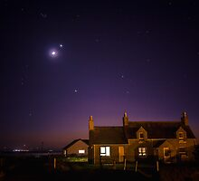 The Planets Meet Over Lewis by hebrideslight