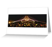 Teacups at night Greeting Card