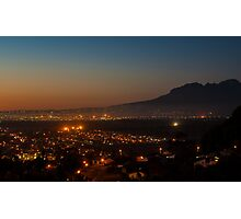 Gordons bay at night Photographic Print