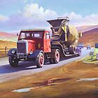 Siddle C Cook&#x27;s Scammell by Mike Jeffries