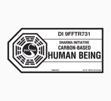Dharma Initiative standard issued human being by MalvadoPhD