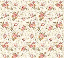Pink Floral iPhone Case by Julian Machann
