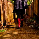 These boots are made for walking ... by Geraldine Lefoe
