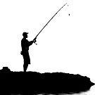 The fisherman by Geraldine Lefoe
