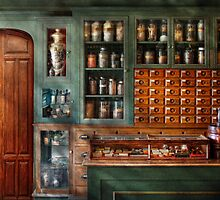 Pharmacy - Medicine - Pharmaceutical remedies  by Mike  Savad