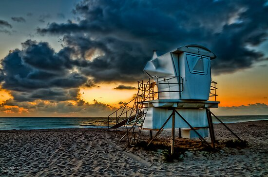 Sunrise in Vero Beach in HDR by MKWhite