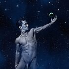 Star Light, Star Bright - nude gay art male art by Michael Taggart
