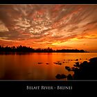 Belait River, Brunei by Dean Mullin