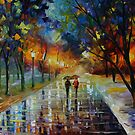 WINTER PARK  - LEONID AFREMOV by Leonid  Afremov