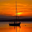 Nautical Sunset. by Julie  White