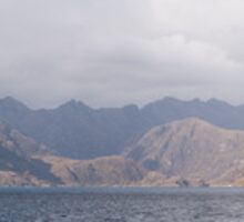 Loch Scavaig Cuillin panorama by Christopher Cullen