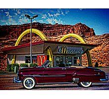 1951 Chevrolet Convertible Photographic Print