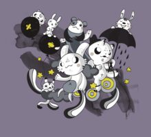 We're  singing in the rain by lunaticpark