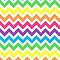 Rainbow Chevron by runninragged