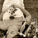 sleeping bride by rosalie photography