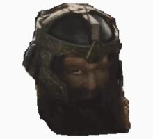 Gimli wierd face! by Ted Dolphin