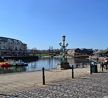 Exeter Quays, Exeter, Devon UK by lynn carter